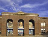 The Library building in Harbor Beach, MI