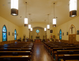 The Francis  Xavier Church-Interior 1