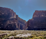 Santa Elena Canyon in late afternoon, Big Bend NP, TX.