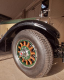 1928 Packard, wheel detail