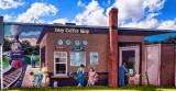 Coffee Shop Mural, Foley, AL.