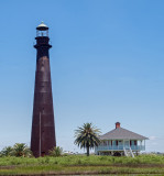 The Port Bolivar Lighthouse, Circa 1852