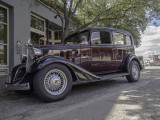 Perhaps a 1935 Chevy Sedan