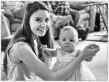 Savanna and her Niece, Baby Eileen
