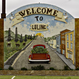 Luling, an oil town in the old days.