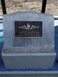 The torpedo memorial sign