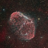 NGC6888 - the Crescent Nebula in Cygnus