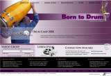 Borntodrum.org  mockup  (2006)