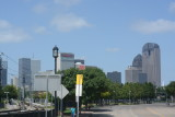 Showing Donwtown Dallas From outside Baylor Hospital