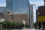 EL Centro with Bank of America Behind it and Parking Garage to the right
