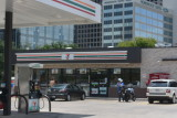 7-11 where later incident occured mostly with street people and police