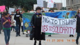 Anti tRump Protest held in Downtown Dallas Texas 11-27-16
