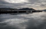 Silver Light Otago Harbour.