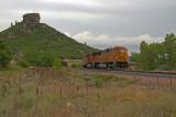 BNSF empty coal train through Castle Rock, CO.