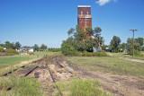 Kanopolis, KS. old grain elevator.