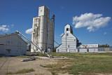 Solomon, KS grain elevators.