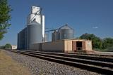 Chapman, KS grain elevator.