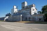 Chapman, KS old grain elevator and newer concrete elevator.