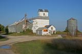 Latimer, KS old grain elevator.