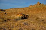 BNSF Z train in Kingman Canyon, AZ.
