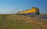 Union Pacific CFD train heading towards Cheyenne, WY