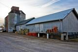 Goltry, OK older grain elevator & warehouse.