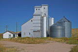 Wyoming grain elevators.