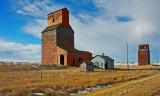 Saskatchewan grain elevators.