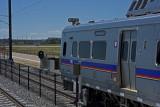 DIA train between Denver Union Station and DIA Airport-Denver, CO.