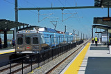 DIA Train with special painted cars-40TH & Aiport Blvd-Aurora, CO