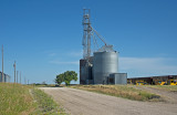 Nonparel, Nebraska grain elevator.