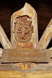 Wanderhü�tte am Heiligen Grund - Detail