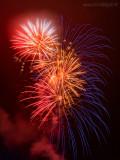 Theresienfest Hildburghausen 2015 - Feuerwerk 1