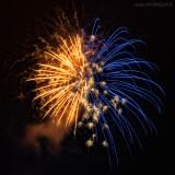 Theresienfest Hildburghausen 2015 - Feuerwerk 8