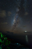 Shiny Venus & Milky Way