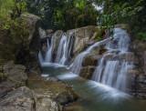 Cool oasis - 3 vertical shot pano