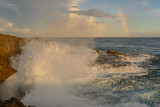 A splash & a rainbow