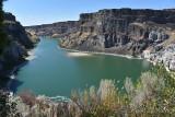 Snake River at Shoshone Falls