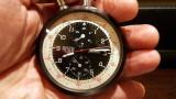 Heuer 1/5 Split Second Chrono Pocket Timer Watch 2-Button - eBay SOLD! $2,025 (20140608)