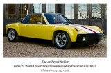 1970 Porsche 914-6 GT, sn 914.043.0181 Factory - 2014/Oct  Sold Euro €400k