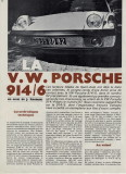 1970 Porsche 914-6 Article by Sport Auto  November 1970 Issue - Page 2