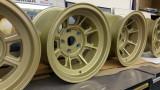 73' 911 RSR Campagnolo 9X15 & 11X15 Magnesium Racing Wheels, OEM