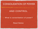 The Consolidation of Power and Control (Human Farming for Profits)