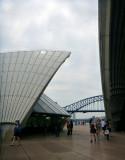 Smoky view of the bridge