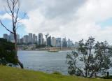 Sydney skyline from Goat Island