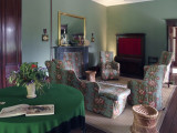Restored living room