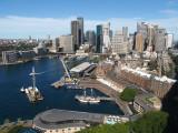 3095 Sydney Cove from the bridge pylon