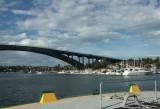 Gladesville Bridge from the Rivercat