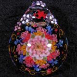 Ladybug Lace Size: 1.31 x 1.04 Price: SOLD