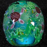Sea Turtles and Tropical Fish Size: 0.98 x 0.94 Price: SOLD